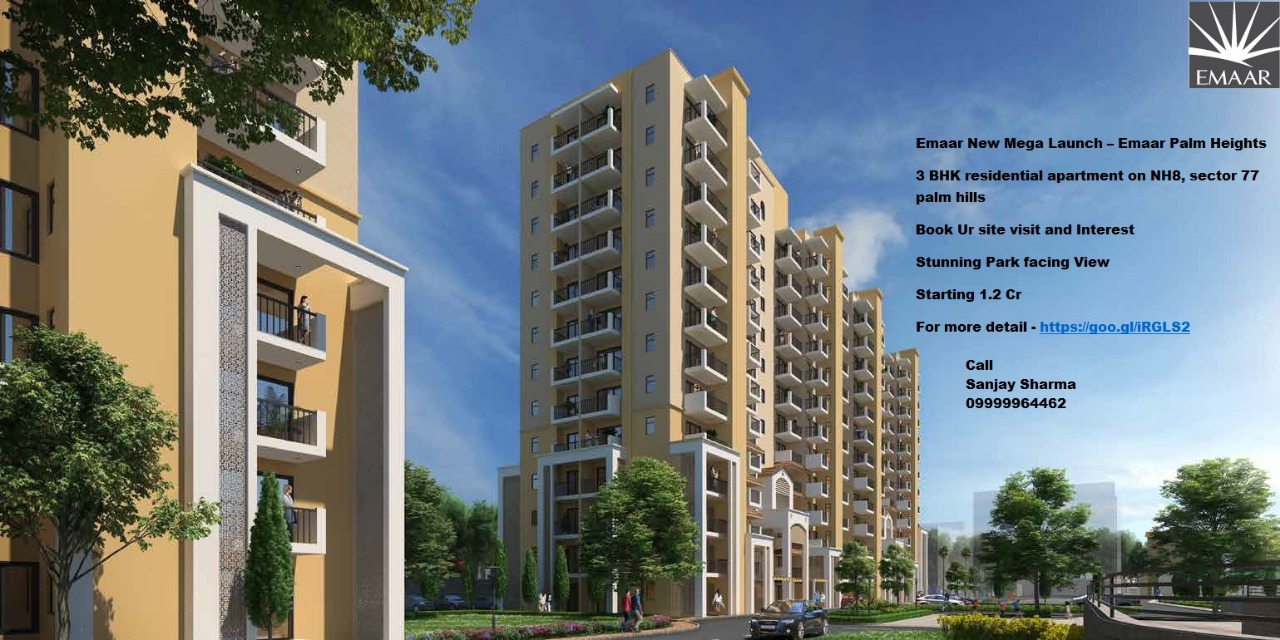 3bhk Apartment  in  Gurugram Palm Hills  Heights