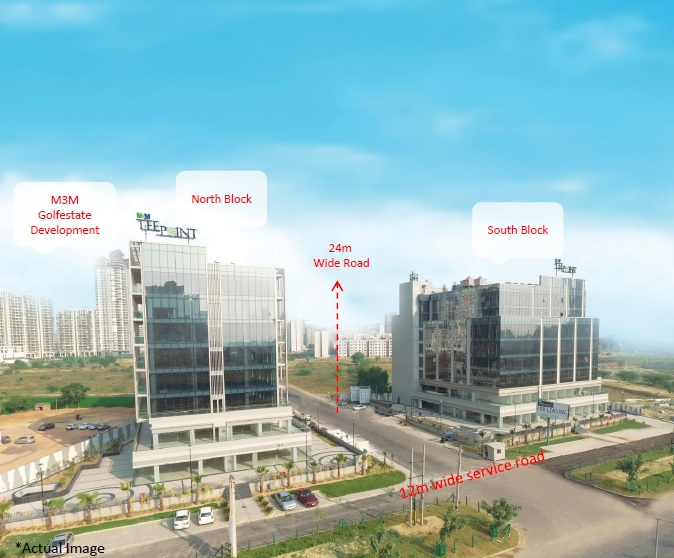 Preleased Office Space in M3M Tee Point Sector 65 Gurgaon