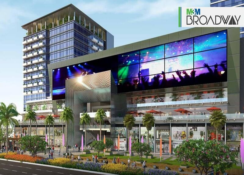 M3M Broadway Commercial Shops and Offices in Gurgaon