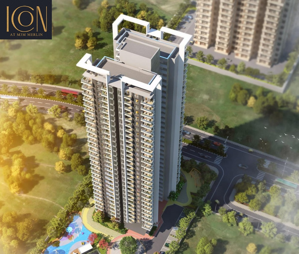M3M Merlin Icon apartments, icon at m3m merlin, m3m merlin icon